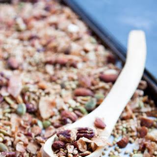 Coconut Buckwheat Granola