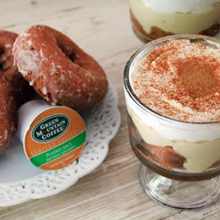 Fair Trade Pumpkin Spice Coffee & Doughnuts Trifle