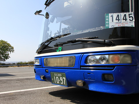 JRバス関東「中央道昼特急13号」 1097_14 境川PAにて_02