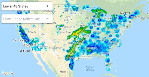 Live Weather Map Usa Weather Radar USA   Rain Snow Radar Image Live   Apps on