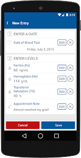 Iron Tracker - Hemochromatosis- screenshot thumbnail