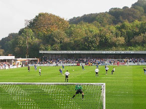 Photo: 11/10/08 v AFC Wimbledon (FAC3QRd) 0-0 - contributed by Leon Gladwell