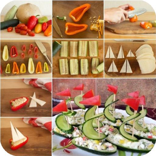 Baixar Idéias criativas para a comida para Android