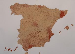 Photo: MAPA DE SUICIDIOS EN ESPAÑA 2010