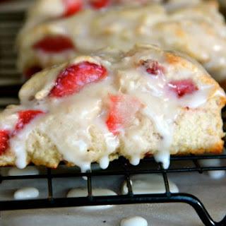 Strawberry Shortcake Scones Recipe