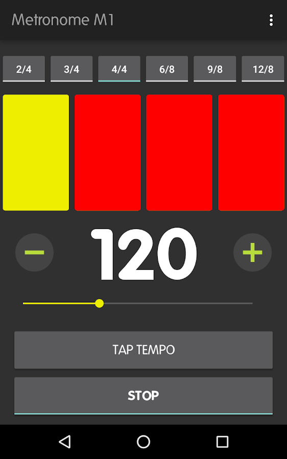 Metronome M1- screenshot