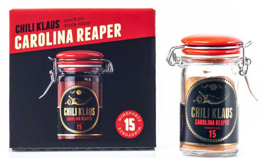 Carolina Reaper chilikrydda vindstyrka 15 – Chili Klaus