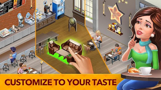 My Cafe: Recipes & Stories MOD (Unlimited Money) 4