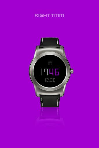 RIGHTTMM - Wear watch face image | 4