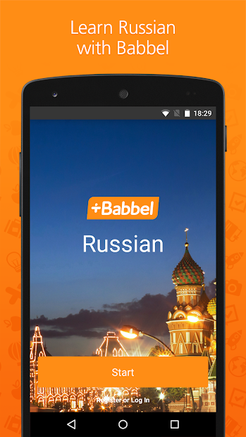 Babbel – Learn Russian Android App Screenshot