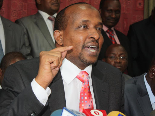 Naional Assembly Majority Leader Aden Duale