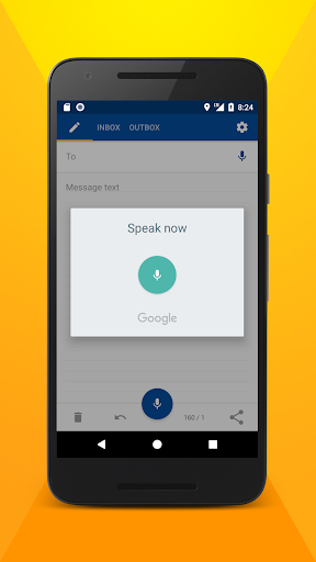 Write SMS by voice screenshots 2