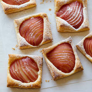 Poached Pear Tarts.