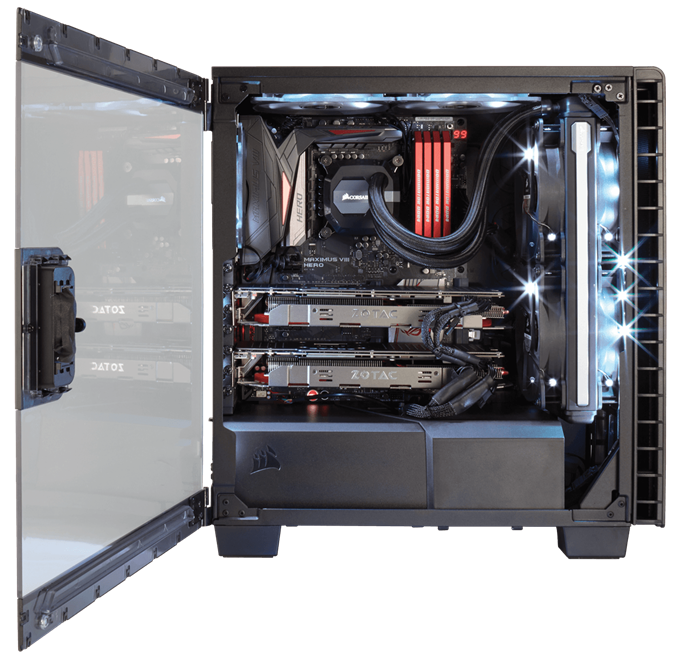 Corsair Carbide Series Clear 400C
