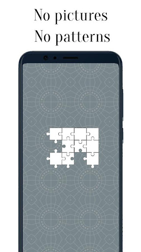 Zen Jigsaw - White Jigsaw Puzzle android2mod screenshots 3