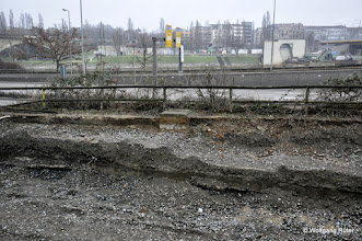 Photo: U-14-Gleisverlegungs-Baustelle