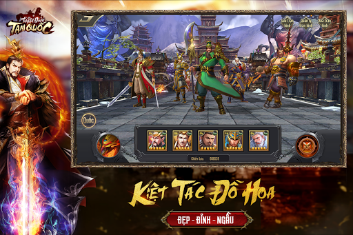 Tuyu1ec7t u0110u1ec9nh Tam Quu1ed1c - Tuyet Dinh Tam Quoc apkpoly screenshots 9