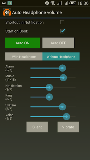Automatic Headphone Volume