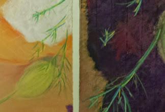 Photo: Werk uit cursus Vera van Heusden (Tekenen en schilderen)