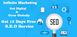 SEO Services | Get 10 % Off | Infinite Marketing