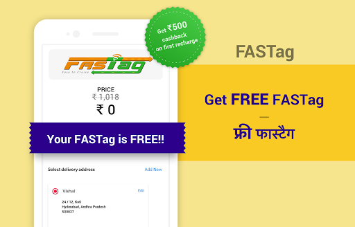 Free FasTag Recharge, Toll, GPS, Diesel for Truck 3.1.92 screenshots 1