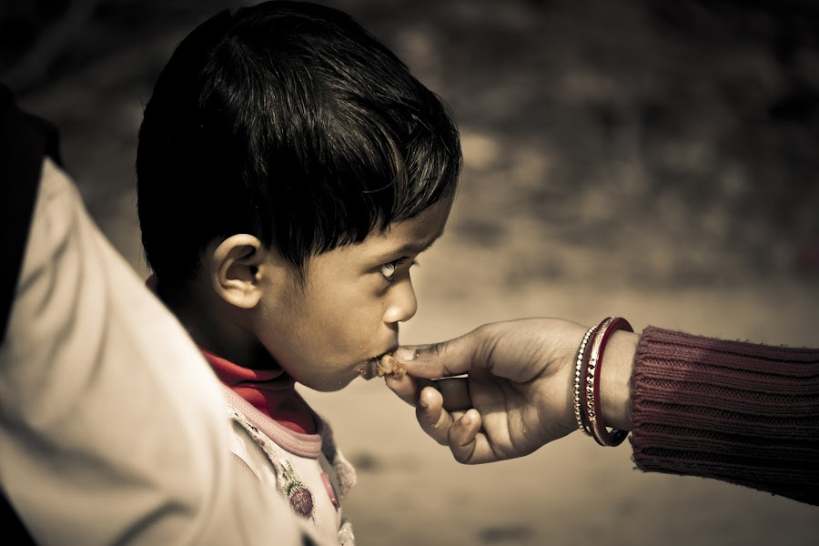 The BITE from MOM never ever loses its TASTE !!!!! by Sankalan Banik - Babies & Children Children Candids