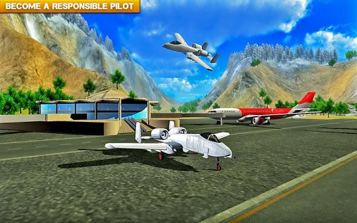 ✈️ Fly Real simulator jet Airplane games 1.2.5 screenshots 2