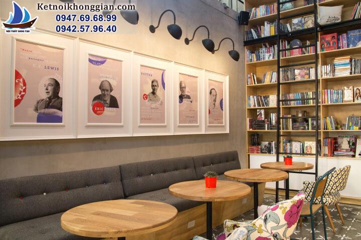 quán cafe sách đẹp nhất