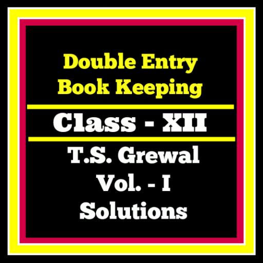 Account Class-12 Solutions (TS Grewal Vol-1)