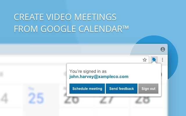 StarLeaf Scheduler for Google Calendar