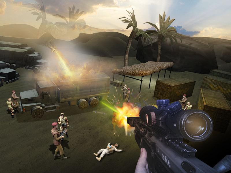 Sniper 3D Kill American Sniper- screenshot