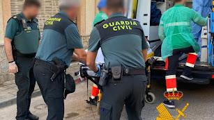 Los dos heridos necesitaron atención médica.