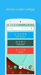 Countdown Widget - náhled