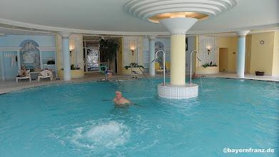 Photo: hier im Wellnesbereich vom Hotel Monarch war wenig Betrieb, das Bad gehörte uns fasst alleine.