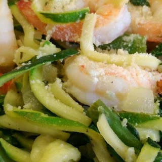 Shrimp Florentine with Zoodles