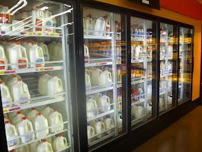 Photo: Milk is a cupcake's best friend - gotta get a gallon!