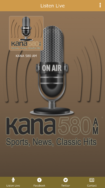 KANA 580 AM- screenshot