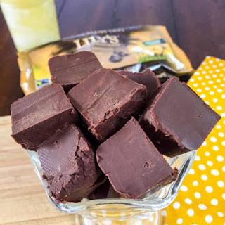 2 Ingredient Fudge (Low Carb, Sugar Free, THM-S).