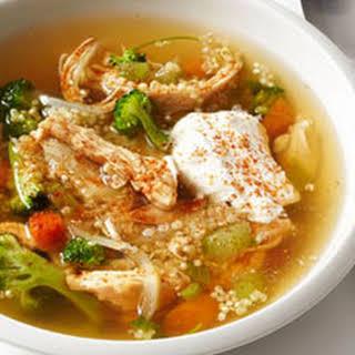 Chicken and Quinoa Soup.