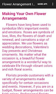 Flower Arrangement Ideas - screenshot thumbnail