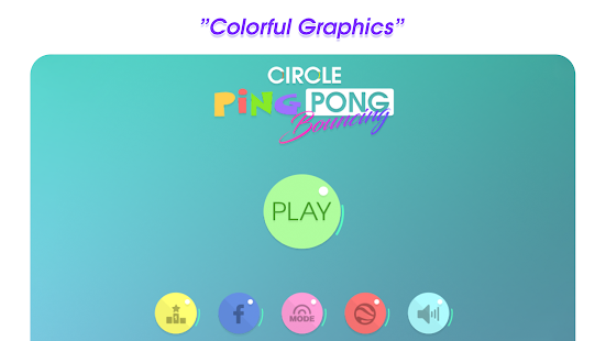 Circle Ping Pong Bouncing- screenshot thumbnail