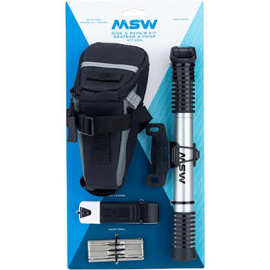 MSW Ride and Repair Kit with Seatbag and Airlift Mini Pump