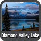 Lake Diamond Valley - California GPS Map Navigator