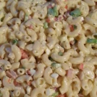 Healthier Classic Macaroni Salad.