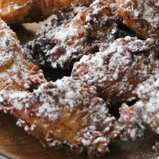 Apple Ricotta Fritters.