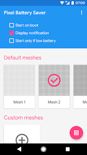 Pixel OFF Save Battery AMOLED 3.2 Mod APK Updated Android 1