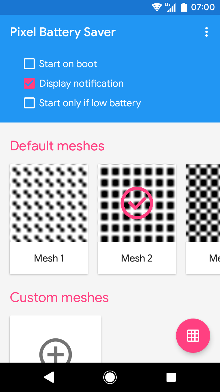 Pixel OFF Save Battery AMOLED Screenshot