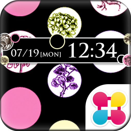 Dots & Flowers Wallpaper Theme Icon