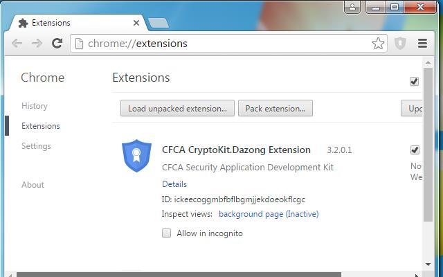 CFCA CryptoKit.Dazong Extension