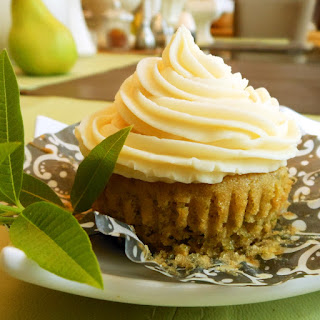 Lemon Verbena Vegan Cupcakes with Orange Buttercream Frosting